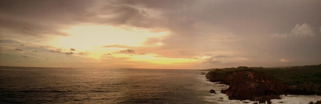 cliff suset