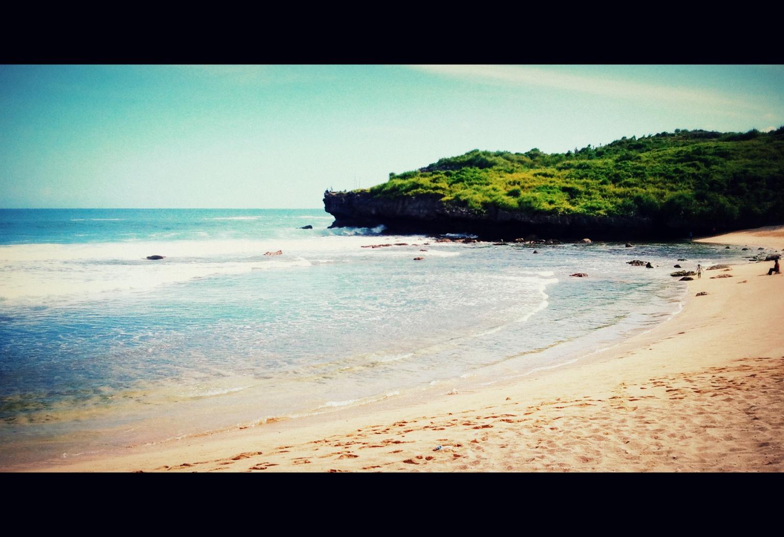 Sarangan Beach